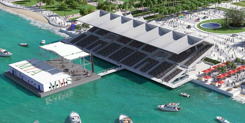 Miami Marine Stadium Restoration Concept